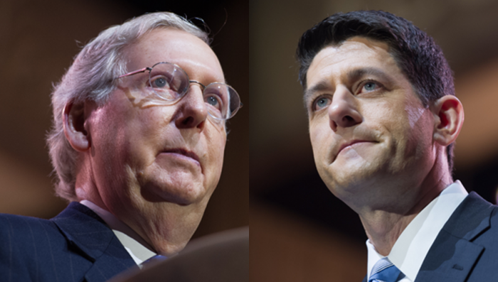 Drain the Swamp: 68% of GOP Voters Say DUMP Paul Ryan and Mitch McConnell and Get New Leadership