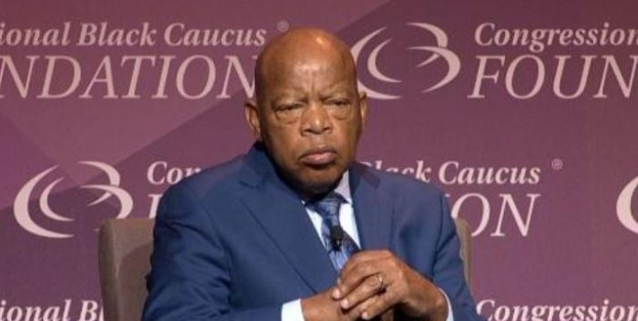 John Lewis: Trump 'Made It Very Comfortable for People to Put on Those Hoods, Put on Those Sheets' (Video)