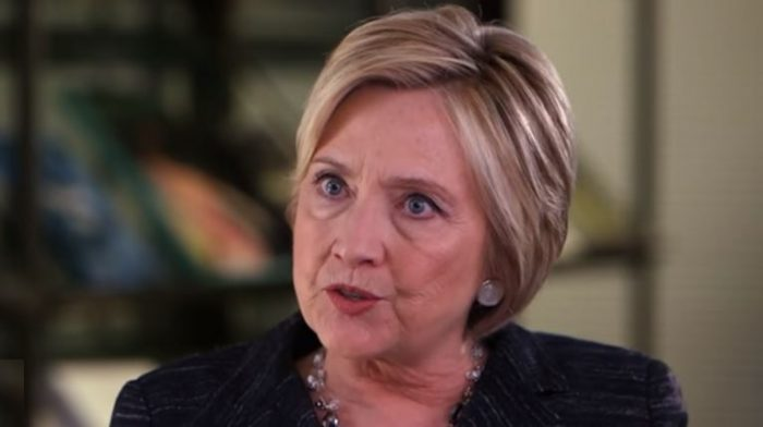 Hillary: Trump 'Has Given a Lot of Encouragement and Rhetorical Support' to the KKK (Video)