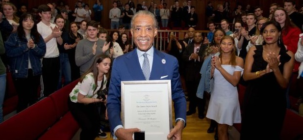 University Honors Al 'Tax Evasion' Sharpton with Distinguished Award, Joins Nobel Peace Prize Winners