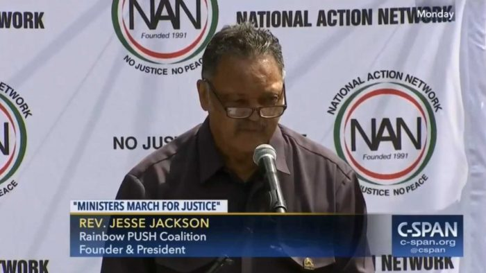 Jesse Jackson: 'Confederate Statues Must Come Down, Electoral College Must Come Down' (Video)