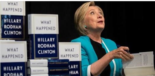 "EPIC! Hillary Clinton Confronted at Book Signing ""What Happened to Your 33,000 Emails?"" (Video)"