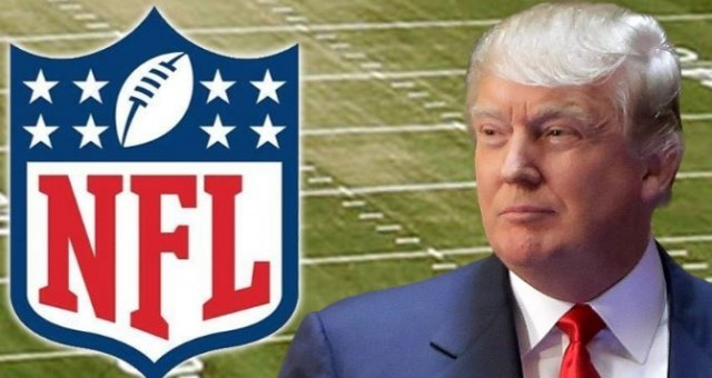 Trump Continues to Slam the NFL for Allowing Anti-Cop Players to Disrespect Flag and Country