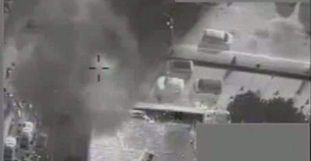 Dramatic Moment RAF Pilots Use Drone-Controlled Single Missile to Stop ISIS Public Execution (Video)