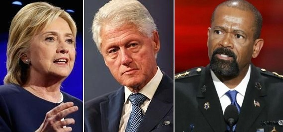 David Clarke Blasts Hillary: 'Your Husband Was the Sexual Predator in the White House!' (Video)