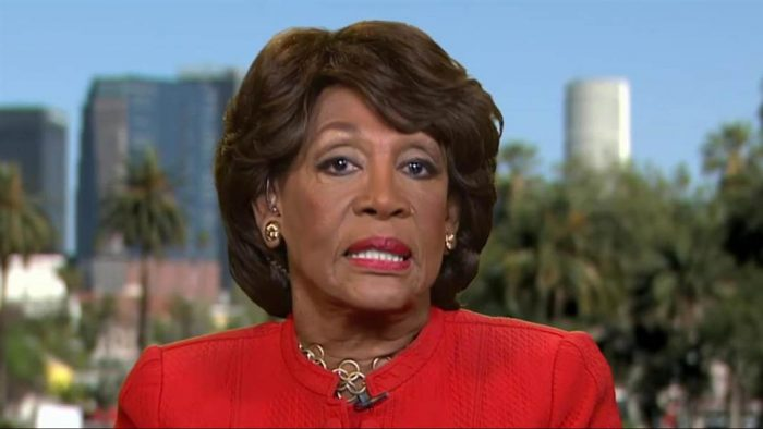 Maxine Waters on Weinstein Contributions: The DNC 'Ought to Give Him the Money Back' (Video)