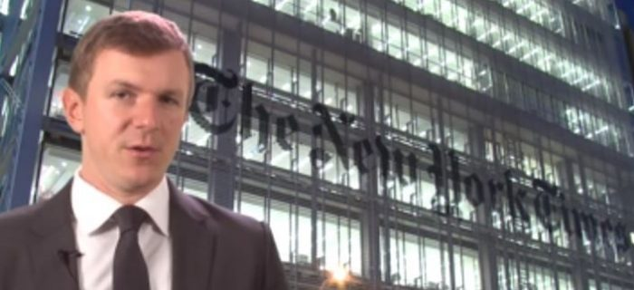 James O'Keefe Releases Bombshell Video Exposing Deceit, Political Bias of 'Fake News' New York Times