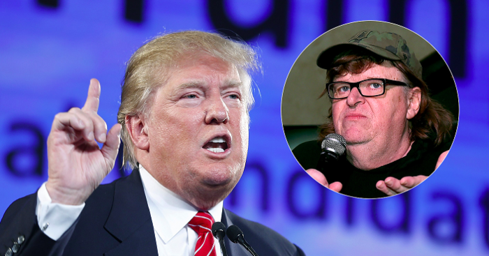 Trump Calls Out 'Sloppy' Michael Moore: Your Broadway Show Was a 'TOTAL BOMB'