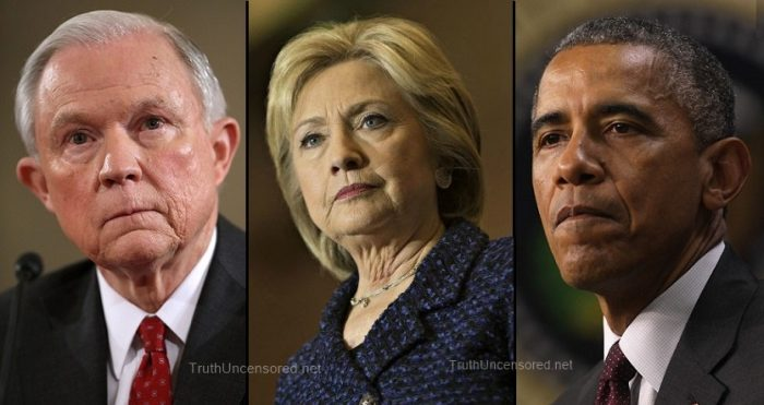 Insider Drops Bombshell on AG Session and His Refusal to Prosecute Obama, Clinton Crimes (Video)