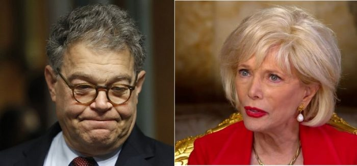 Flashback: Al Franken Joked About Photographing Unconscious Lesley Stahl in 'Various Positions'