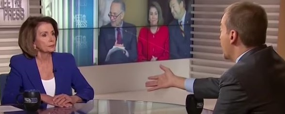 Pelosi Furious With Chuck Todd for Hammering Her With Franken, Conyers Sexual Misconduct Questions (Video)
