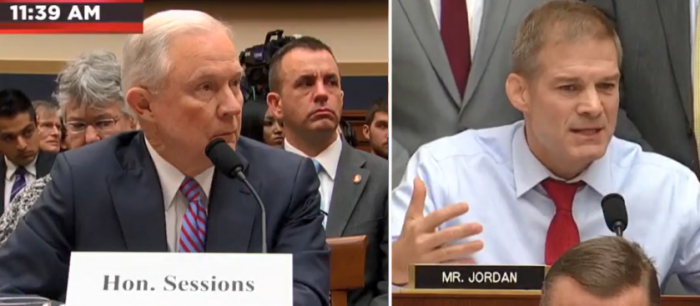 HEATED Exchange: Sessions Pushes Back on Demands for Clinton Special Counsel (Video)
