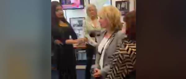 Juanita Broaddrick, Kathleen Willey Storm Al Franken's Office Demanding His Resignation (Video)