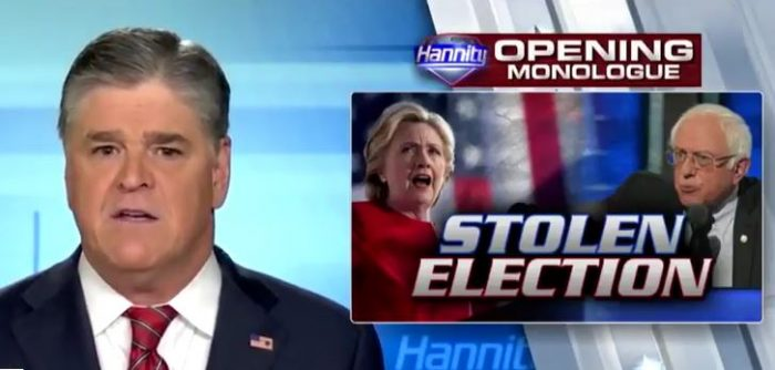 Hannity on Clinton-DNC Revelations: 'Highest Level of Corruption We Have Seen in Our Lifetime' (Video)