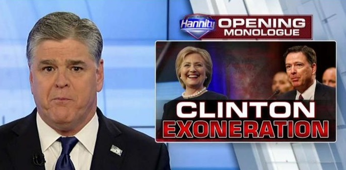 Sean Hannity on Clinton Email Probe: 'The Fix Was in From the Very Beginning!' (Video)