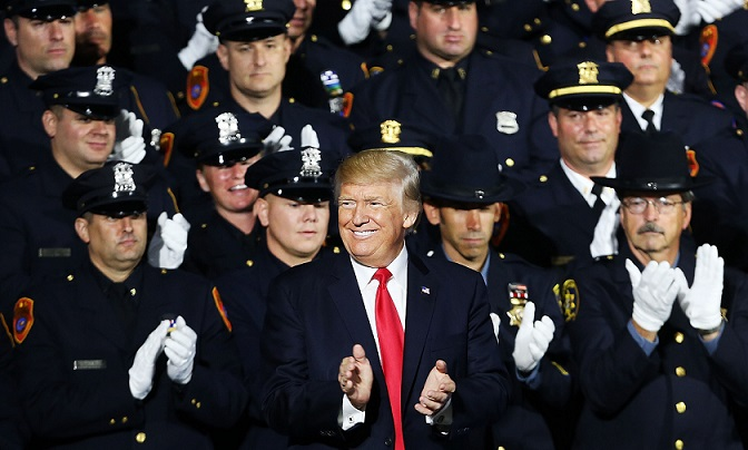 WINNING: Police Deaths Approach 50-Year Low During Trump's First Year in Office