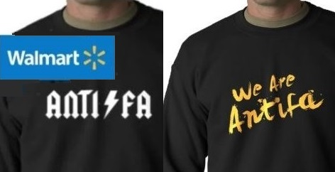 Walmart Selling 'Antifa' Riot Gear Proudly Made in Mexico