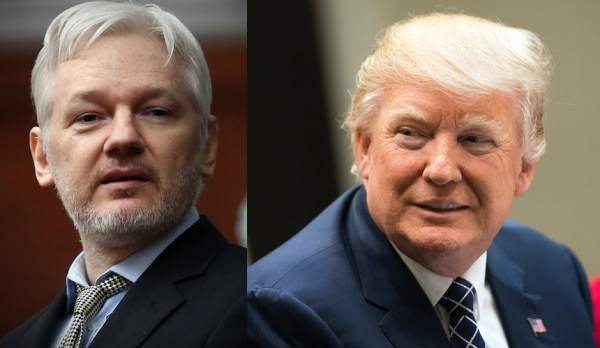 Julian Assange WARNS: Deep State Intent on Removing Trump and Installing Mike Pence