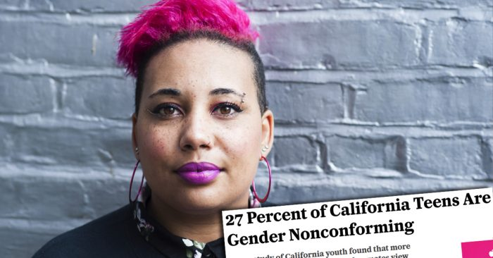 Study Shows 27% of Teens in California Are Considered 'Gender Nonconforming'