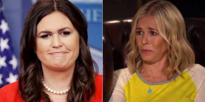 Chelsea Handler: Sarah Sanders is a 'Harlot,' 'Trolloped Out' With 'Summer Whore Lipstick All Over Her Face' (Video)