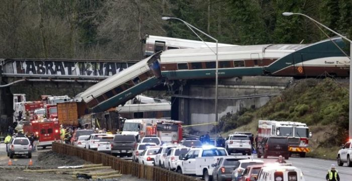 Panicked ANTIFA Website Deletes Article About Sabotaging Train Tracks in Olympia After Derailment