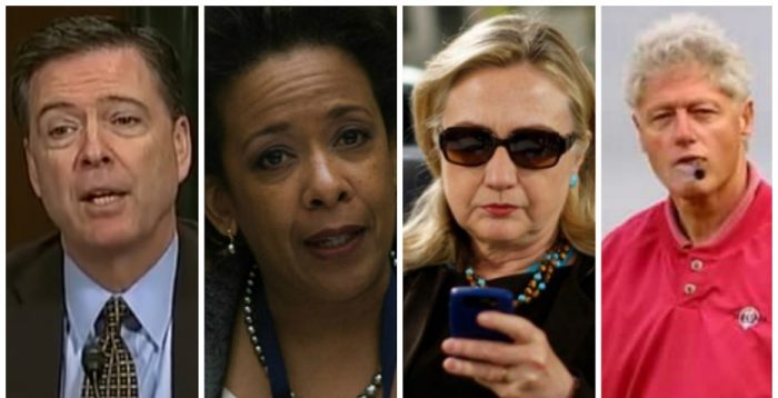 New Documents Reveal FBI's Hillary Clinton Cover-Up: Lynch, Comey and Bill Clinton Implicated (Video)