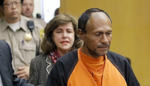 Illegal Immigrant in Kate Steinle's Death Wants Gun Conviction Overturned
