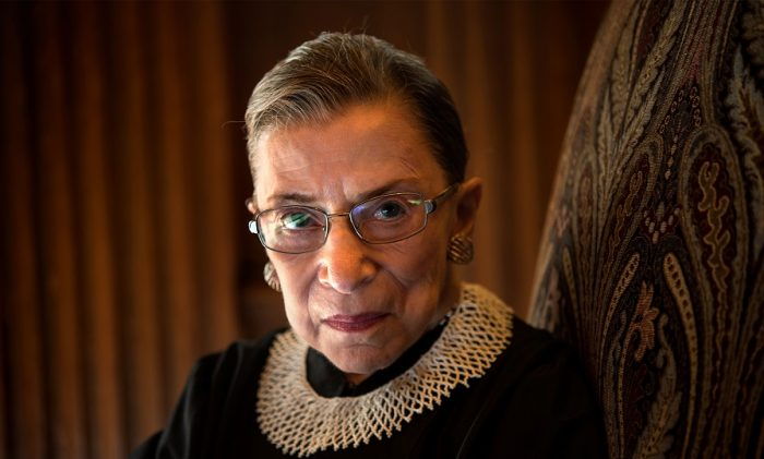 Supreme Court Justice Ginsburg FAVORS Decriminalizing Pedophilia and Child Sex Trafficking