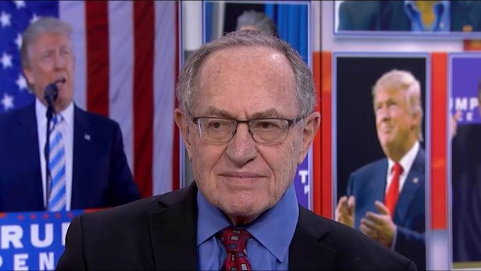 Dershowitz: Dems' Attempts to Have Trump Removed Over 'Mental Unfitness' VERY Dangerous, a Threat to Our Democracy (Video)