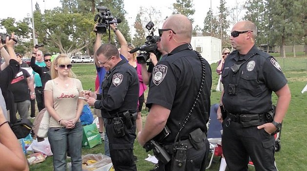 Totalitarian California Government ARRESTS Citizens for Feeding the Homeless (Video)