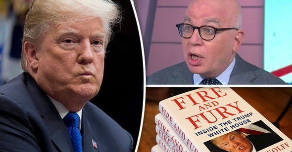 "Literally UNREAL: Author of ""Bombshell"" Trump WH Book ADMITS He Can't Verify All That's In It"