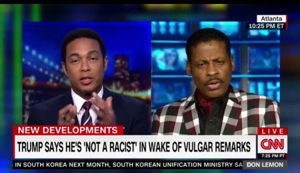 "CNN's Don Lemon Loses It After Martin Luther King's Nephew Says Trump is a ""Genius"" (Video)"