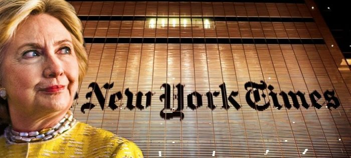 Wikileaks Drops Bombshell: PROOF The NY Times Colluded With Hillary While She Was Secretary of State