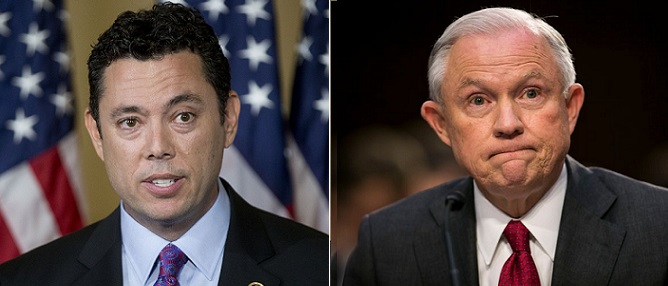 'Let's Get Rid of Him!': Chaffetz Says Sessions is a 'Worthless Attorney General' (Video)