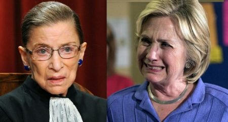 Justice Ginsburg: 'Macho Atmosphere' and 'Sexism' Caused Hillary Clinton to Lose 2016 Election (Video)
