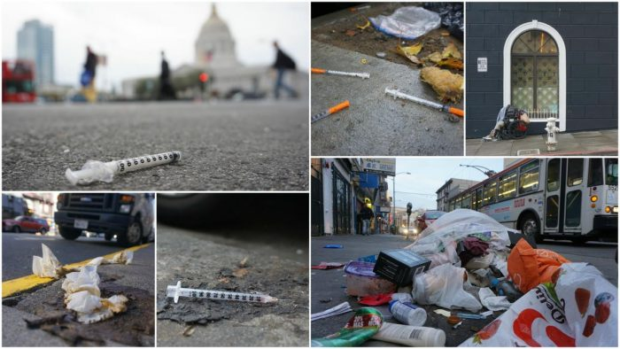 Diseased Streets: Disturbing Survey Finds Trash, Needles, Feces Littering Streets of San Francisco (Video)