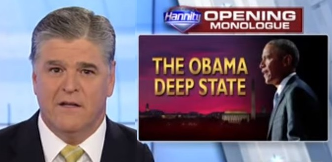 """Hannity WARNS: Evidence is Coming That Will """"Rock the Foundation of Washington, D.C."""" (Video)"""
