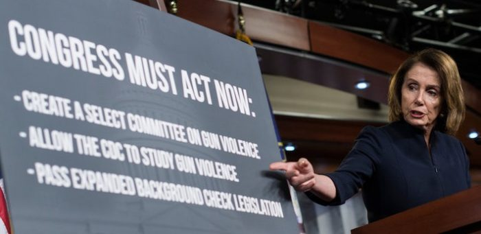 "Nancy Pelosi: ""I Would Rather Pass Gun Safety Legislation Than Win The Election"" (Video)"