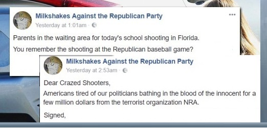 Far-Left Group Calls For Murdering Republicans as Revenge For Florida School Shooting
