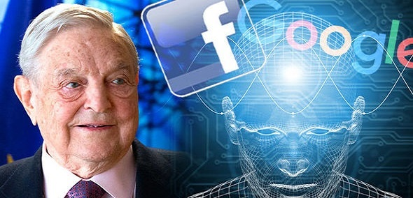 George Soros Demands EU Regulate Social Media Giants Facebook and Google to Fight Populism