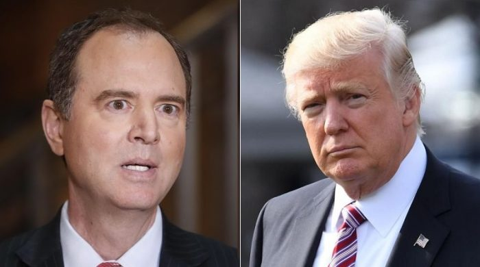 Donald Trump Slams: 'Little' Adam Schiff 'One of the Biggest Liars and Leakers in Washington' (Video)