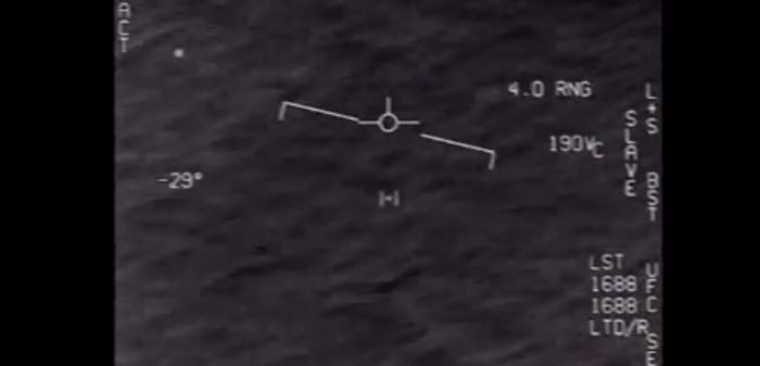 Footage of Mysterious Object Above Ocean Stuns Military Personnel (Video)