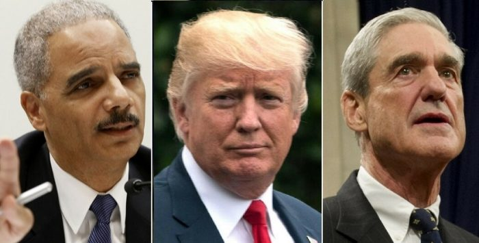 Holder: 'Mueller Has Obstruction of Justice Against Trump, Waiting to Build a Stronger Case' (Video)