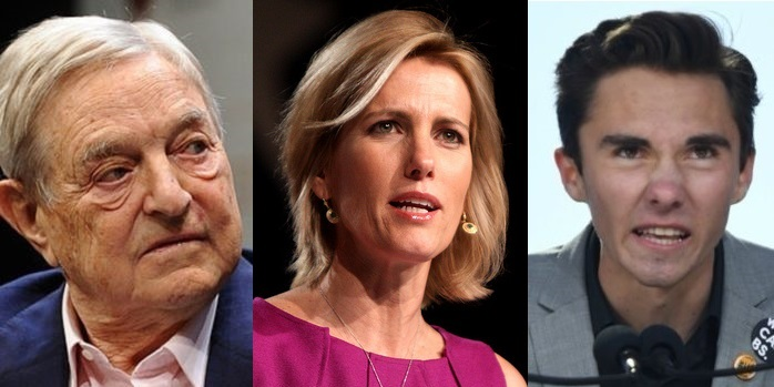 Soros-Funded Groups Fueling Hogg's Laura Ingraham Advertiser Boycott By Publishing Attack LIST