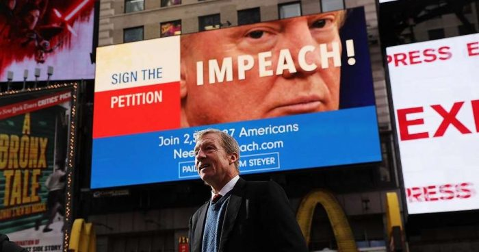 Poll Shows Dem Candidates Supporting Trump's Impeachment Could Help GOP in Midterms