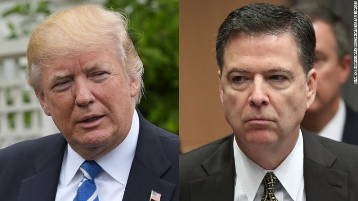 "President Trump Threatens ""Self-Serving Liar"" James Comey With Jail Time In Twitter Tirade"