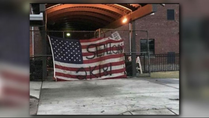 'A Teachable Moment': Veterans Talk to Teens Who Defaced American Flag (Video)