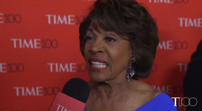 Maxine Waters Tells Trump To Resign, 'Just Get Out' At TIME 100 Gala Honoring Her (Video)