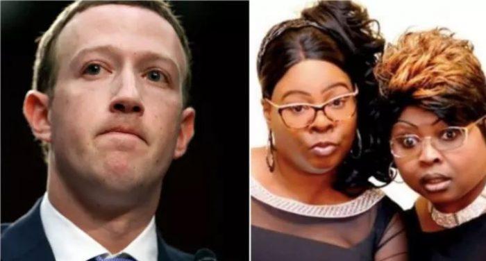 Mark Zuckerberg Claims Facebook Censorship of Diamond and Silk Was 'Enforcement Error' (Video)