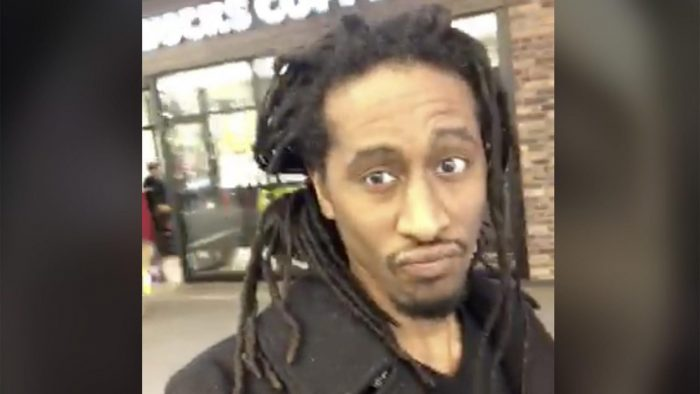VIRAL Video of Black Man Entering Starbucks Demanding Free 'Reparations' Coffee. There's a huge catch…